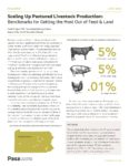 report cover for Scaling Up Pastured Livestock Production: